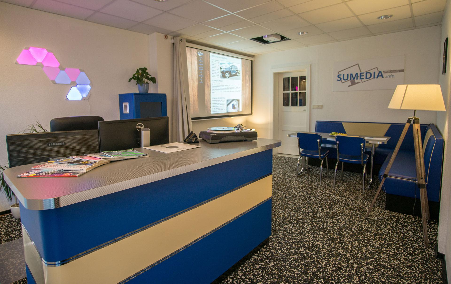 SUMEDIA Webdesign online Marketing Büro Falkensee Eingangsbereich
